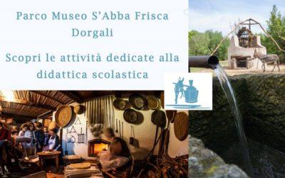 Parco Museo S'Abba Frisca: l'offerta didattica per gruppi e scolaresche