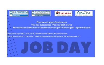 JOB DAY: giornata di approfondimento con Servizio Placement UNISS e ANPAL su Tirocini e Apprendistato