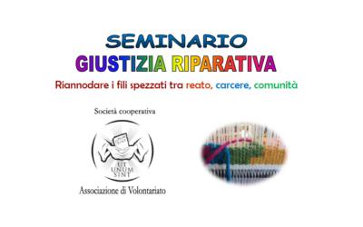"""Seminario """"Giustizia Riparativa"""""""