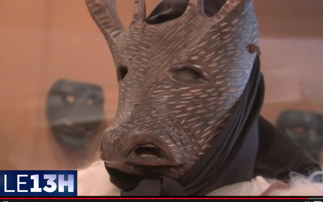 Il Museo delle Maschere Mediterranee al telegiornale francese