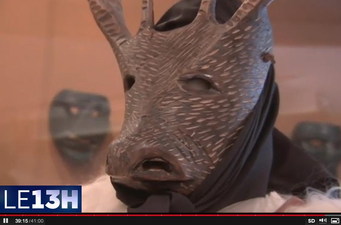 Museo maschere mediterranee al tg francese for Decorazione provinciale francese con un budget
