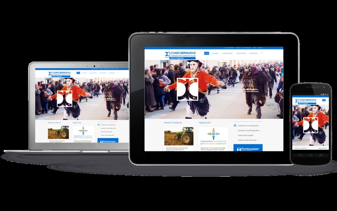 È online il sito web di Confcooperative Nuoro Ogliastra