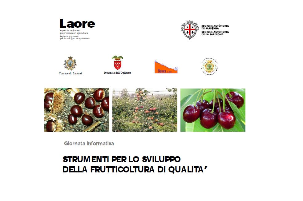 Lanusei, venerdì 26 giugno un convegno sulla frutticoltura di qualità