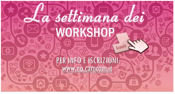 Made in Italy Eccellenze in Digitale: 3 workshop gratuiti