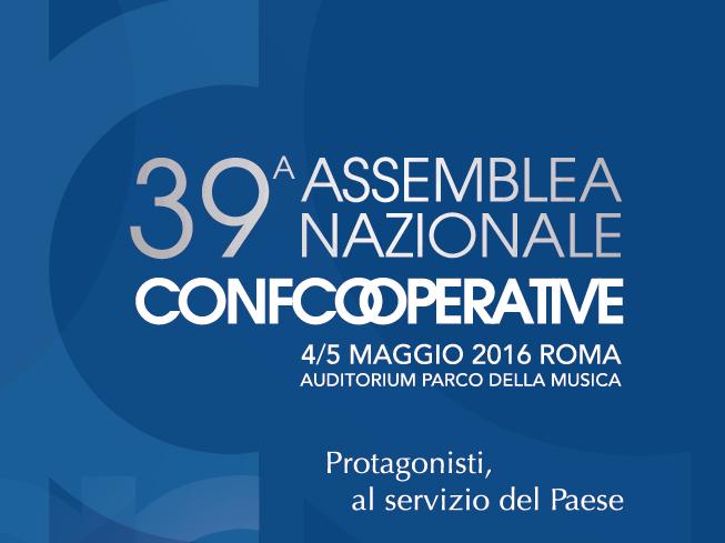 Protagonisti, al servizio del Paese: al via l'Assemblea Nazionale di Confcooperative