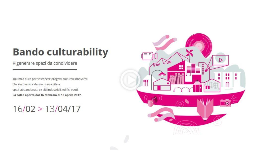 #culturability4: 400 mila euro per progetti culturali innovativi ad alto impatto sociale