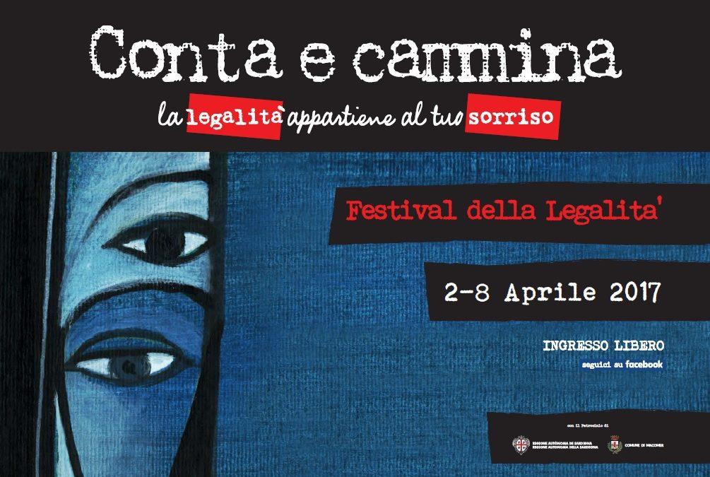 Al via la quarta edizione del Festival della legalità Conta e Cammina