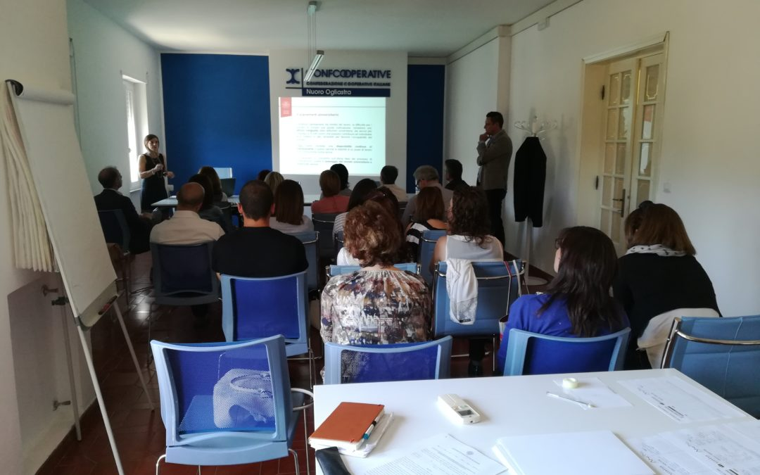 Confcooperative incontra il Job placement UNISS