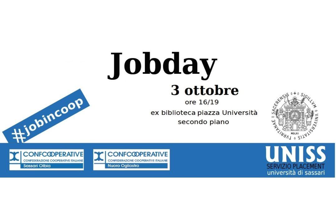 Evento Job Day! Il 3 ottobre a Sassari – Piazza Università
