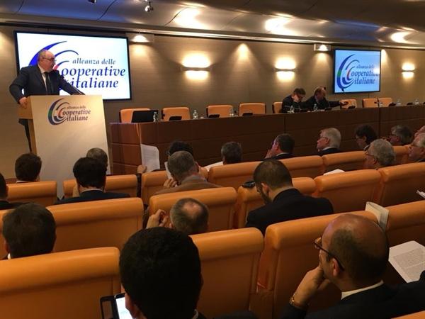 Alleanza Cooperative, Gardini riconfermato alla presidenza
