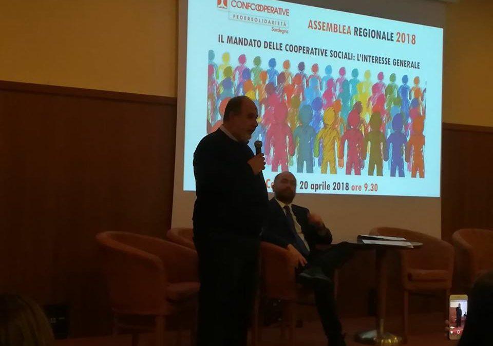 Antonello Pili nuovo Presidente di Federsolidarietà Sardegna