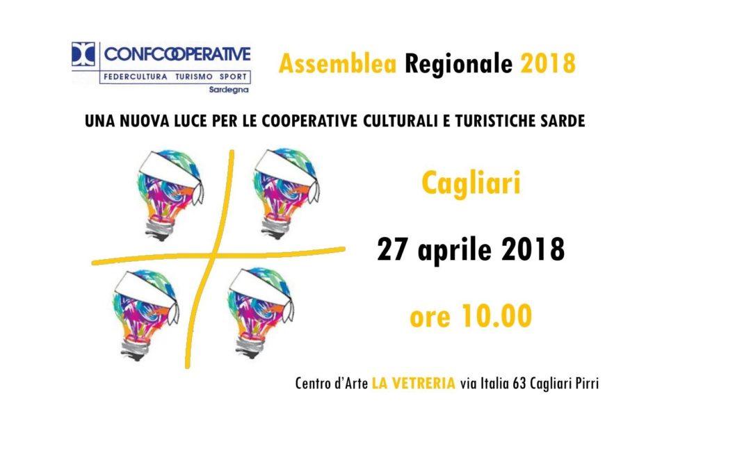 Assemblea Regionale di Federcultura Sardegna – Cagliari, 27 aprile