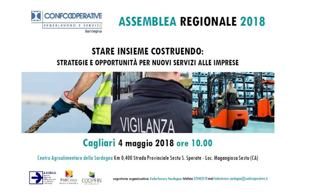 Assemblea Regionale Federlavoro Sardegna | 4 maggio 2018