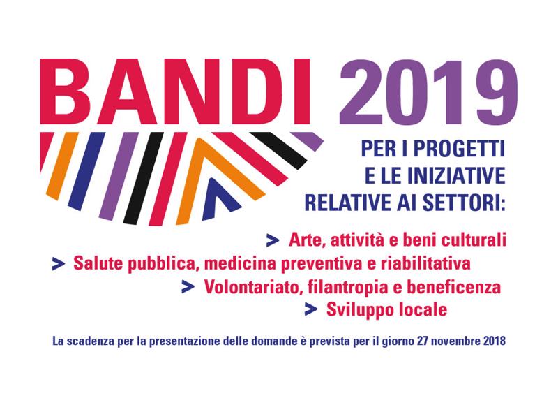 Fondazione di Sardegna – Bandi 2019