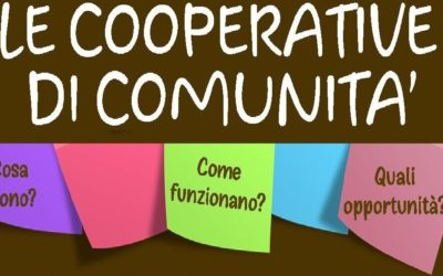 Seminari sulle cooperative di comunità – 20/21 febbraio 2019