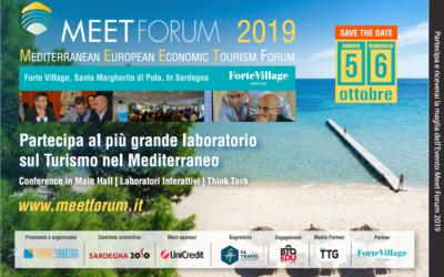 Meet Forum 2019: il più grande laboratorio sul Turismo del Mediterraneo |Forte Village 5-6 ottobre