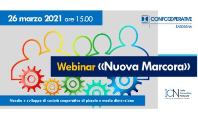 "Webinar ""Nuova Marcora"" | 26 marzo 2021"